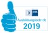 IHK Logo Ausbildungsbetrieb 2019